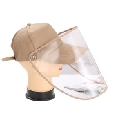 Anti-Virus Protective Hat Anti-Saliva Anti-Dust Face Protection Adjustable Detachable Protective Cap