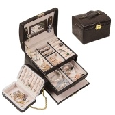Organizador de caixa de armazenamento de jóias