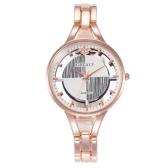 Frauen arbeiten Legierungs-Armbanduhr-Dame Exquisite Casual Quartz Watch um