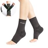 Tutore per caviglia con fasce a compressione Manicotto a compressione a compressione Calze a compressione allevia il dolore alle articolazioni della tendinite di Achille Facilita il gonfiore per l