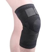 Supporto per manica a compressione per ginocchio da 1 pezzo per uomo e donna per corsa, escursionismo, calcio, pallacanestro, pallavolo, sollevamento pesi, palestra, sport