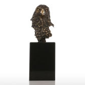 Marmor Basis Eagle Hawk Handgemachte Bronze Skulptur Moderne Kunst Home Decor