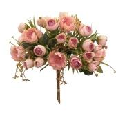 Набор искусственных цветов со стеблями