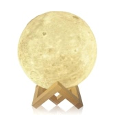 Creative Moon Lamp Tooarts forme de la lune et la lumière aide à vous détendre et à dormir