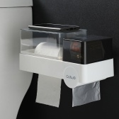 Multifunction Bathroom Tissue Holder