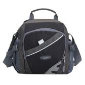 Nowy Unisex Nylon Crossbody Torba Wodoodporna Zipper Kontrast Kolor Multi-Sport Kieszenie Casual Outdoor Małe torby na ramię torebka