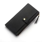 Art- und Weisefrauen-Geldbeutel PU-Leder-beiläufiger langer Mappen-Telefon-Karten-Halter-Reißverschluss-Bargeld-Geld-Handtasche