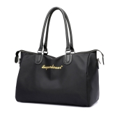 Vintage Women Handbag Nylon Waterproof Zipper Large Capacity Multifunction Casual Tote Travelling Luggage Bag