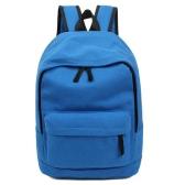 Новая мода женщин девушка рюкзак твердых регулируемый ремень студентов случайные спорта сумка рюкзак