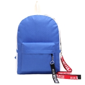 Fashion Women Girls Backpack Contrast Color Large Capacity Student Schoolbag Laptop Travel Bag