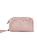 Moda Feminina Embreagem Carteira De Couro Grande Capacidade Bolsa Multi-Zipper Lady Handbag Wristlet