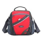 Nova Unisex Nylon Crossbody Bag Waterproof Contraste Cor Zipper multi-bolsos Casual Desportivo Exterior Pequenas Bolsas de Ombro Handbag