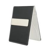 Новый Модный Мужской Клип Деньги из Искусственной Кожи Тонкий Бумажник Паспорт Денежный Клип