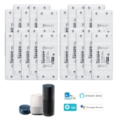 SONOFF Basic Wifi Switch 20PCS funciona com Alexa para Google Home Timer