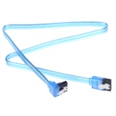 SATA 3.0 High Speed 6Gbps Straight/Right Angle Connector Data Cable Cord with Locking Latch Plug for HDD Hard Drive SSD