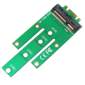 WBTUO LM-121M PCI-E M.2 Konwertuj kartę NGff Klucz B do adaptera mSATA Zielony