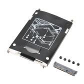 Discos rígidos SATA Disco HDD Caddy + Conector para HP EliteBook 2560P Série 2570P
