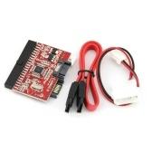 IDE para SATA SATA para IDE ATA ATAPI Serial HDD Mutual Converter Adapter W / Cable