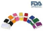 Decdeal 9PCS Elastic First Aid Tourniquets Quick Release Outdoor Medical Emergency Tourniquet FDA Approved