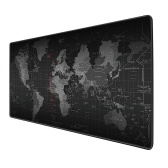 Large Mouse-Pad with World Map Oversized Extended Waterproof Non-slip Keyboard Pad Desk Mat Office Gaming Mouse-Pad 800*300mm