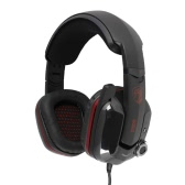 Somic G909 Vitual 7.1 Surround Vibration Gaming Headset Extreme Bass Over Ear Esport Game Earphone Headphones LED Light USB Wired with Microphone