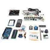 TJ2560 Nauka Płyt Głównych Rozwoju + Płyta rozszerzeń + Zestaw Breadboard dla Arduino - Niebieski + Czarny