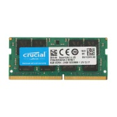 Crucial 8GB Single DDR4 2400MT/s PC4-19200 CL17 1.2V SODIMM 260-Pin Memory for Laptop Notebook CT8G4SFD824A