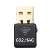 Mini USB AC 600M Dual Band Wifi Adapter for Windows/Linux/MAC OS