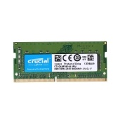 Crucial 4 GB Único DDR4 2400MT / s PC4-19200 CL17 1.2 V SODIMM Memória de 260 Pinos para Notebook Laptop CT4G4SFS824A