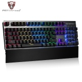 Motospeed CK108 104 Keys Blue Switch RGB Backlit Ergonomics Design Mechanical Gaming Wired Keyboard