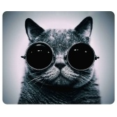 CAT-1 Mouse Pad Cute Cat Picture Anti-Slip Gaming Mouse Mat for PC Computer Laptop MackBook