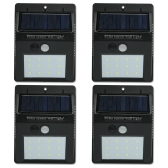 12 LED Solar Sensor Waterproof Wall Lights