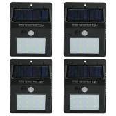 12 LED Solar Sensor Waterproof  Wall Lights