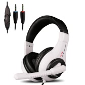 Ovann X3 Professional Esport Gaming Stereo Headset Baixo Fone de ouvido sobre a orelha 3,5 milímetros Wired com microfone para pc computador portátil