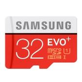 Samsung Memória 32GB EVO Plus MicroSDHC 95MB / s UHS-I (U1) Classe 10 TF Cartão de memória flash MB-MC32GA / CN Alta velocidade para telefone Tablet Cemara