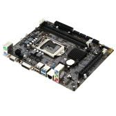 Onda H110C Motherboard Mainboard Systemboard for Intel H110/LGA 1151 mATX SATA USB 3.0 DDR4 Dual Channel for Desktop