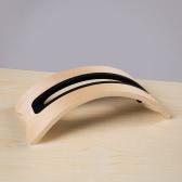 Samdi BookArc Natural Original simples de madeira vertical desktop Stand Holder exibição Stander para Apple Macbook Pro