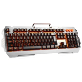 7-pinowa PK-810 104 klawisze Wired Gaming Keyboard