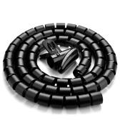 2m Wire Wrap Organizer Winder Clip Cable Plug Wire Holder