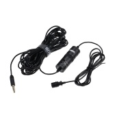 BOYA BY-M1 Universal Lavalier Microphone Clip-On Kondensator Mic Recorder