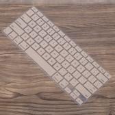"Silicone Anti-pó ultra-fino teclado do portátil Film tampa da etiqueta protetora da pele US layout para MacBook Pro ""Retina 13,3"