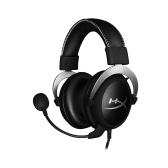 Kingston HyperX Cloud Pro Gaming Stereo Headset mit In-Line Audio-Steuerung für PS4 Xbox One PC Silber HX-HSCL-SR / NA