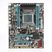 Uruchamianie X79 2.4E Płyty główne ATX płyty głównej SATA 3.0 i porty USB 3.0 LGA2011 / I7 / E5-V1 / E5-V2 Szeregowy 4 gniazda DIMM Pamięć DDR3 Pojemność pamięci do 64 GB