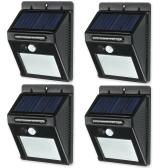20 LED Solar Sensor Waterproof Wall Lights
