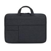 Tragbare Laptoptasche 15,6-Zoll-Laptoptasche Wasserdichte Nylon-Laptoptasche Aktentasche Freizeit Business Handtasche Marineblau