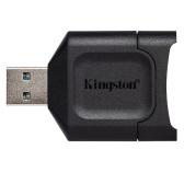Kingston MLP Hochgeschwindigkeits-SD-Kartenleser USB3.2 Gen 1 Multifunktions-Speicherkartenleser Mini Portable SD-Kartenleser SD-Adapter