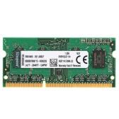 Genuine Original Kingston KVR Notebook RAM 1600MHz 4G 1.35V Não ECC DDR3 PC3L-12800 CL11 204 Pin SODIMM Memória da placa-mãe