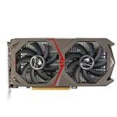Colorido NVIDIA GeForce GTX 1050 GPU 2GB de 128 bits Gaming 2048M GDDR5 PCI-E X16 3.0 placa gráfica de vídeo DVI + HDMI + Porto DP com dois ventiladores
