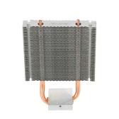 PCCOOLER HB-802 2 Heatpipes Radiador Placa-mãe de dissipador de alumínio / Northbridge Cooler Suporte de refrigeração Southbridge Ventilador de refrigeração 80mm para computador de mesa