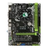 MAXSUN MS-A10 4600 Quad-Core mATX Desktop Computer Motherboard 2.3GHz Dual DDR3-1600 Placa-mãe 384 CUDA Cores Com HDMI + VGA